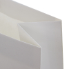 White Kraft Paper Carrier Bags - Ref. Ruffles