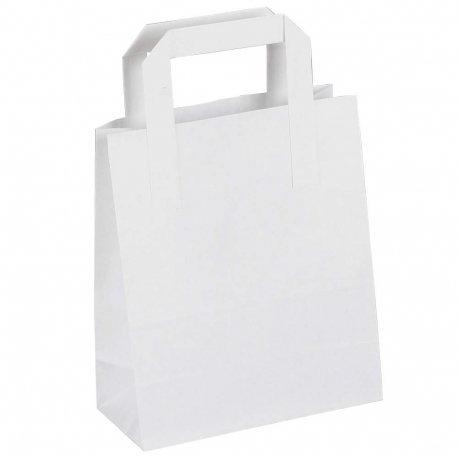White Paper Sandwich Bags Paper Take Away Bags