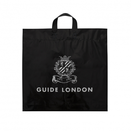 Customised Flexi-Loop Handle Carrier Bag Ref Guide London