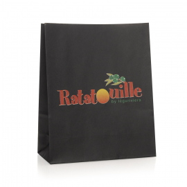 Bespoke Paper Handleless Bag for Dry Food Ref Ratatouille