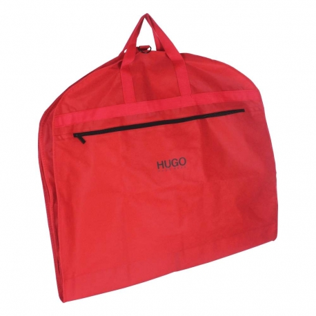 2fc054f34a5 Printed Non-Woven Suit Bags - Red Suit Carrier Bags - Ref. Hugo Boss