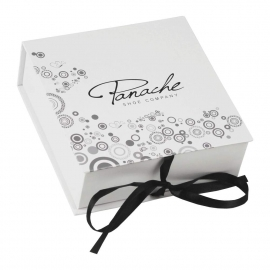 Printed Ribbon Sealed Paper Boxes – Ref. Panache