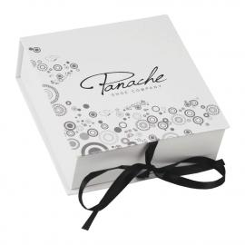 Printed Ribbon Sealed Paper Boxes Ref Panache