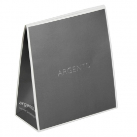 Printed Jewellery Boxes With Hot Foil Stamping Ref Argento