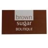 Brown And White Custom Printed Stickers - Ref. Brown Sugar