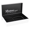 Detachable Lid Luxury Paper Boxes Tied With Ribbon - Ref. The 3five2