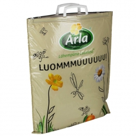 Printed Plastic Cool Bags With Clip Handles - Ref. Arla