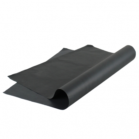Premium Plain Black Tissue Paper