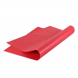 Premium Plain Red Tissue Paper