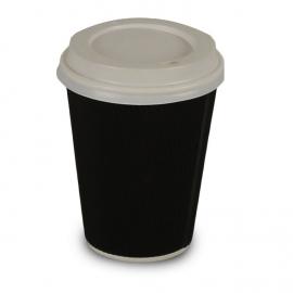 Black Kraft Ripple Cups