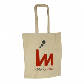 Loop Handle Cotton Carrier Bags ref iMakr