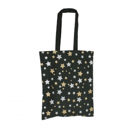 Dyed Cotton Bags With Metallic Stars Ref. Next