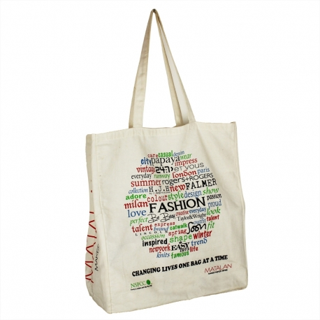 Printed Cotton Bags - ref Matalan