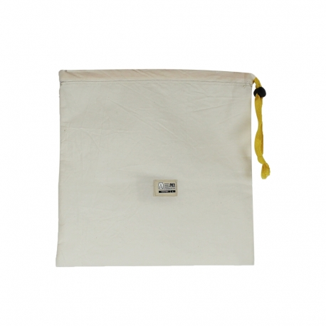Cotton Drawstring Sacks ref. Army Small