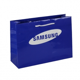 Luxury Gloss Laminate Rope Handle Paper Bags Ref. Samsung