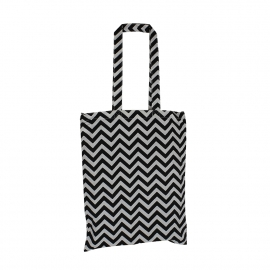 Zebra Screen Printed Cotton Bags Ref. Next