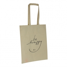 Custom Printed Cotton Bags - Ref. Next Be Happy
