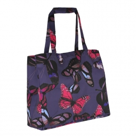 Sublimation Printed Polyester Bags with Navy Butterfly Ref. Next