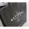 Printed Flat Handle Kraft Paper Bags ref The National