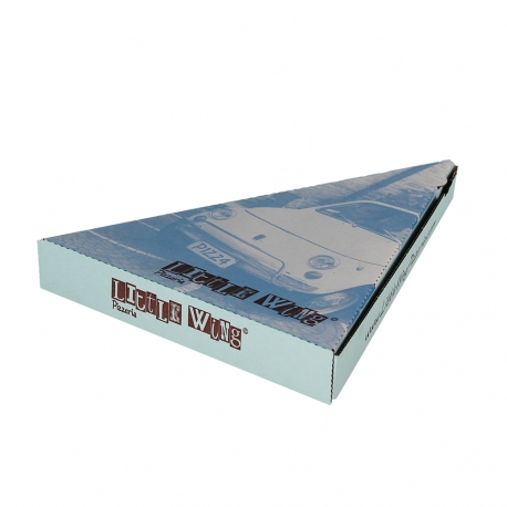 Custom Printed Pizza Slice Boxes - ref. Little Wings Pizzeria