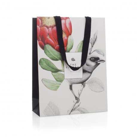 Printed Ribbon Handle Carrier Bags ref The Fitzroy