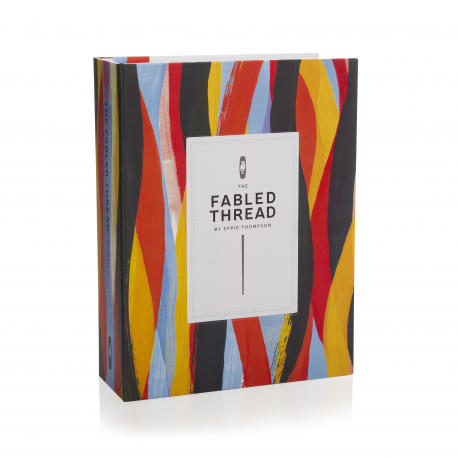 Luxury Book style Rigid Card Boxes ref The Fabled Thread