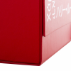 Red Luxury Flat Packed Magnetic Seal Boxes ref Harry Lou