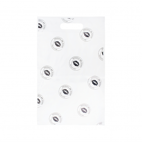 Medium Printed Mailing Bags - Ref. Noughts and Kisses