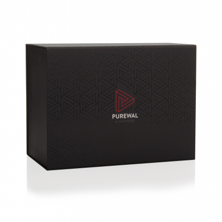 Magnetic Seal Boxes with Spot UV - Ref. Purewal & Partners
