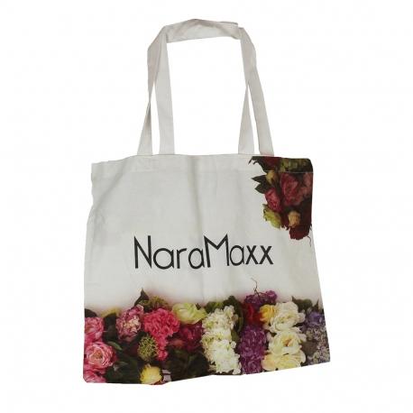 Printed Loop Handle Cotton Bags ref NaraMaxx