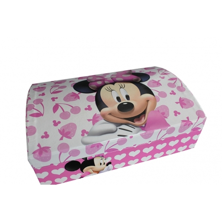 Luxury Cardboard Jewellery Boxes ref Minnie Mouse