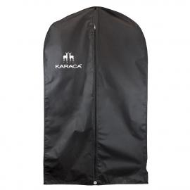 Overprinted PEVA Black Suit Carrier Ref. Karaca