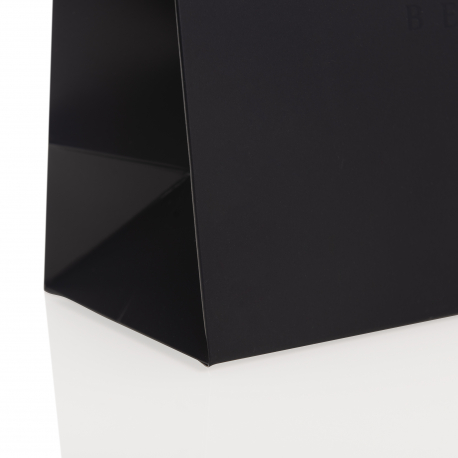 Ribbon Loop Handle Paper Bags - Ref. KVD Vegan Beauty