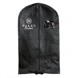 Printed One Colour Non Woven PP Suit Carrier Ref. Vakko Couture