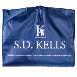 Printed PEVA Suit Bags - 160gsm Printed Garment Covers - Ref. S.D. Kells