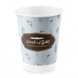 Custom Full Colour Printed Cups Ref Hansel and Gretel