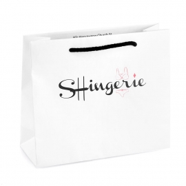 Printed Recycled Paper Bag ref. Shingerie