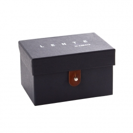 Printed Watch Paper Box with Inside Printing Ref. Lente Di Abbate