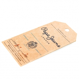 Printed Recycled Paper Clothes Tag Ref. Pepe Jeans