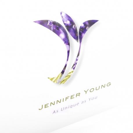 Printed Full Colour Matt Laminated Pillow Box Ref. Jennifer Young
