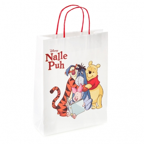Full Colour Printed Paper Kraft Twisted Handle Carrier Bag Ref. Disney