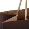 Printed Recycled Kraft Twisted Handle Paper Bag Ref. Stalric