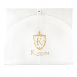 Printed White and Gold Garment Cover Ref. Kingdom