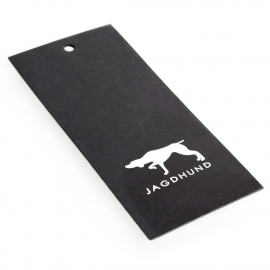 Printed Luxury Clothing Tag with Spot UV Ref. Jagdhund