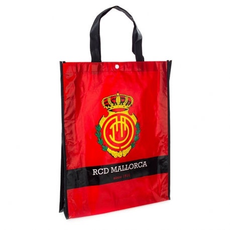 Weather Proof Printed Non-woven Bag with popper button - ref. RCD Mallorca