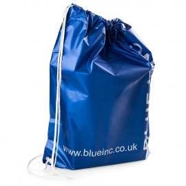 Drawstring MDPE bag for Fashion Retail ref. Blue Inc