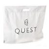 LDPE white bag with matte finish Ref. Quest