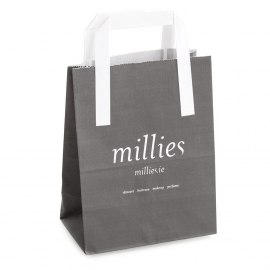 Single Colour Flat Handle Bag Ref. Millies