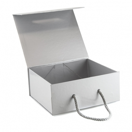 Magnetic Seal Rigid Card Box with Gloss Laminate