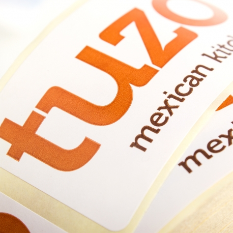Pantone Matched Sticker Ref. Tuzo Mexican Kitchen